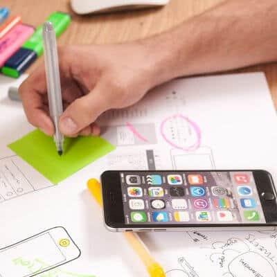 Planung der Programmierung von mobilen Apps