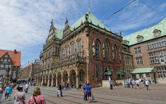 Softwareentwicklung in Bremen am Rathaus