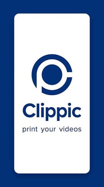 Logo der Clippic App