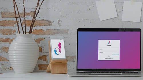 Danceflavors Plattform auf Smartphone und Laptop