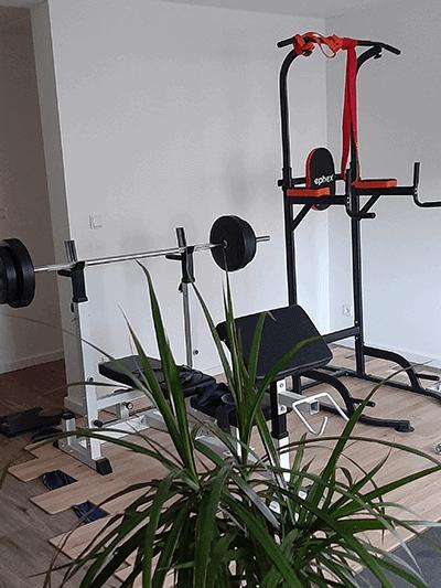 Fitnessbereich Unternehmen