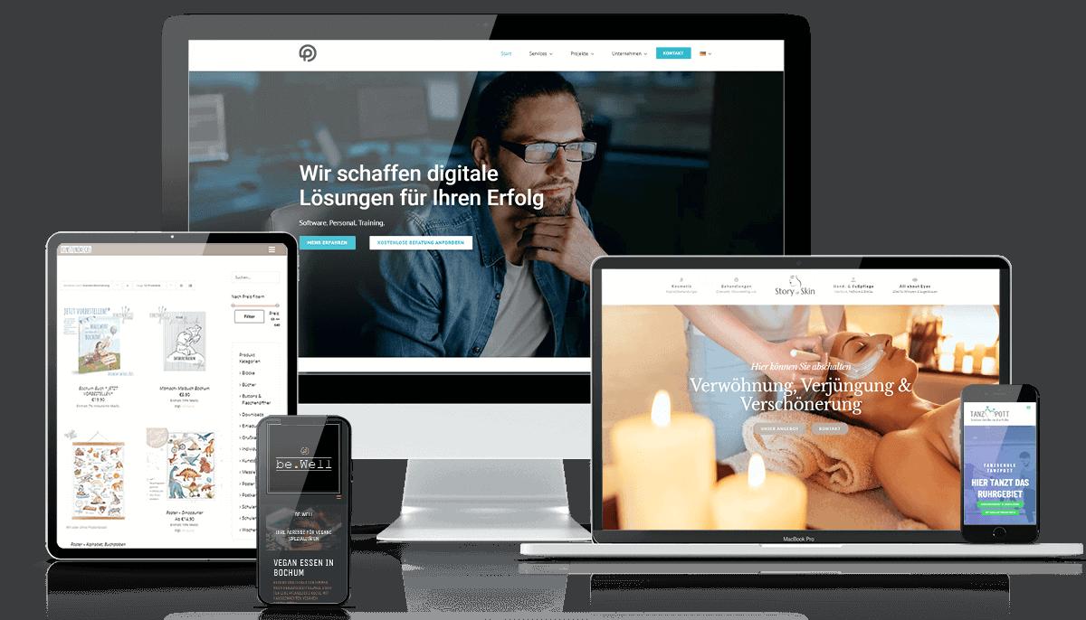 Services vom Webseiten-Schmied