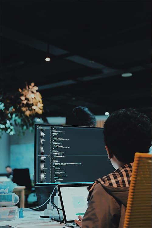 Java Freelancer bei der Arbeit